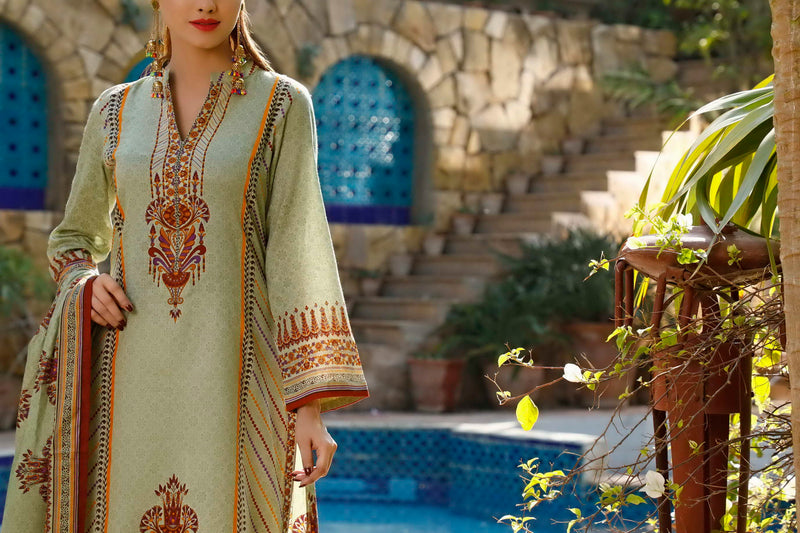 Daman Printed Lawn Collection 20-09A(Restocked)