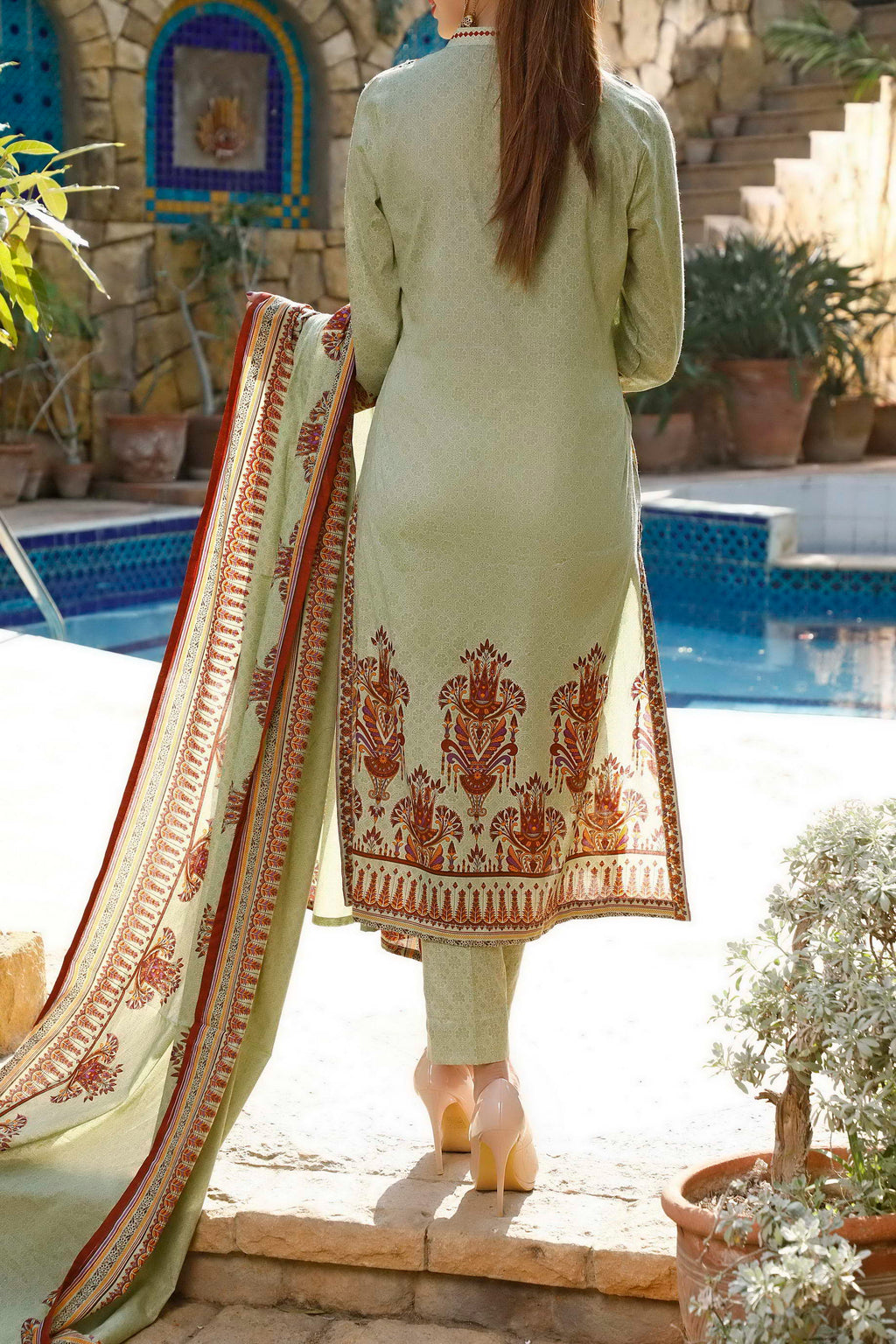 Daman Printed Lawn Collection 20-09A