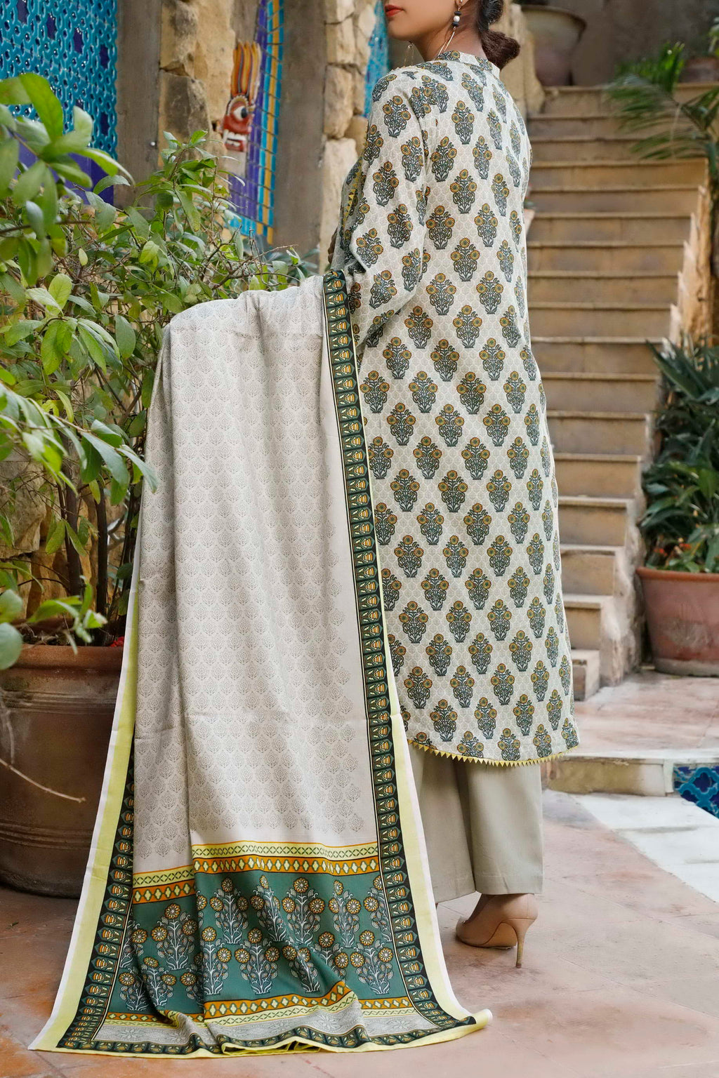 Daman Printed Lawn Collection 20-01A