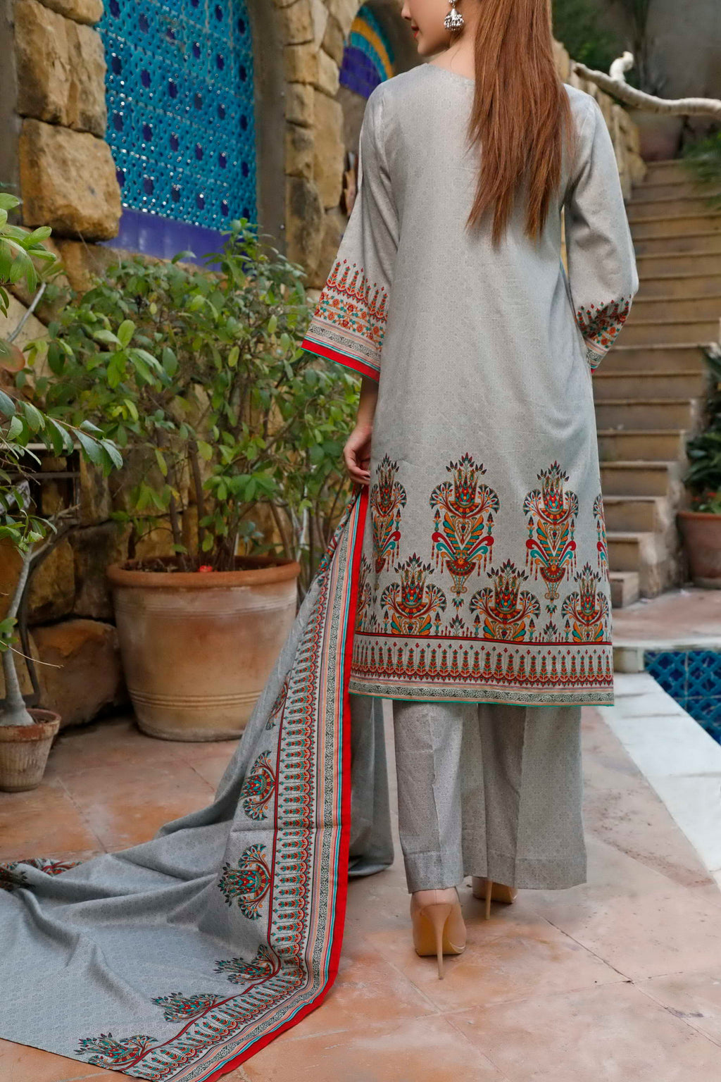 Daman Printed Lawn Collection 20-09B