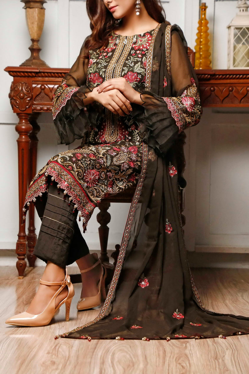 Sophia & Emaan Chiffon Collection D-03