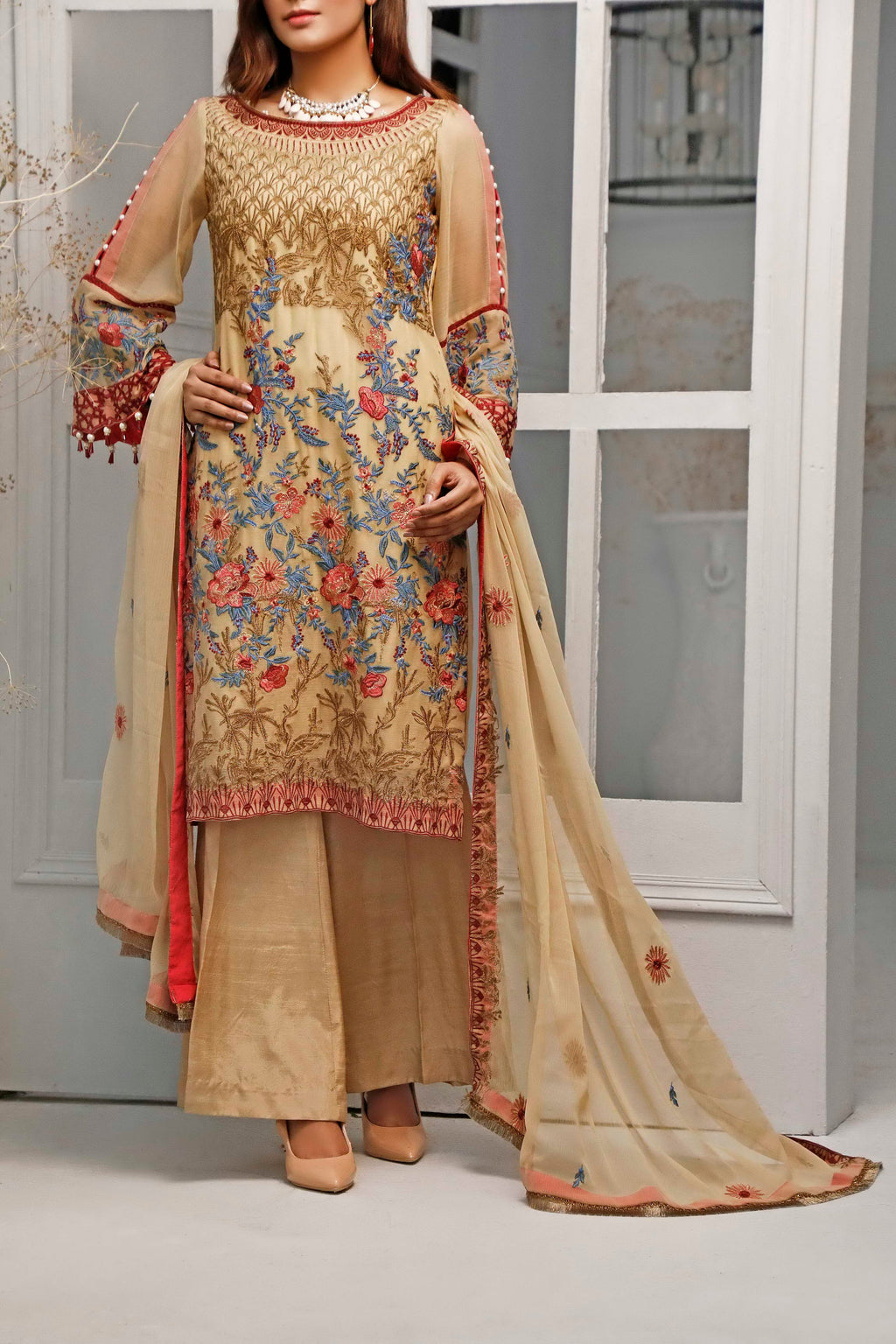 Sophia & Emaan Chiffon Collection D-02