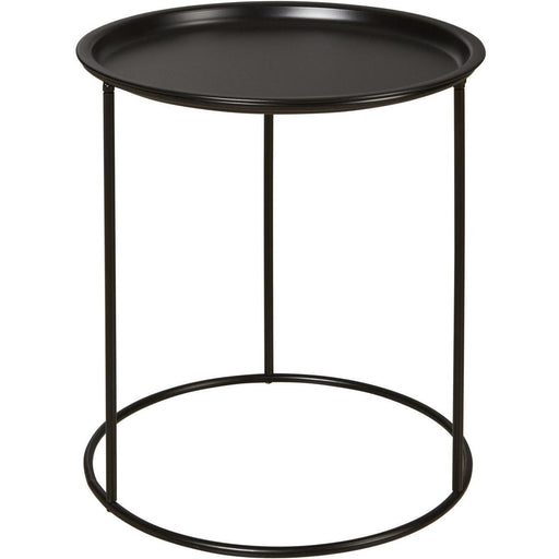 Table d'appoint 67052NO - LUCETTE Noir - Lot de 1