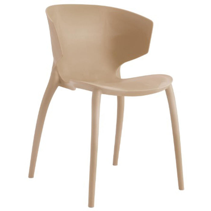 Chaise 40412BE - ARIEL Beige - Lot de 4