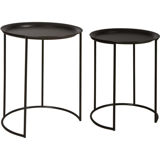 Table d'appoint 67053NO - FRESH Noir - Lot de 1
