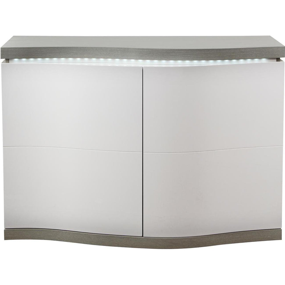 10158BG - Meubles_de_salon_sejour_salle_a_manger Phoenix Light Grey & White