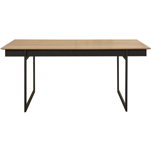Table de repas 10121NA - TOSCANA Noir & Marron - Lot de 1