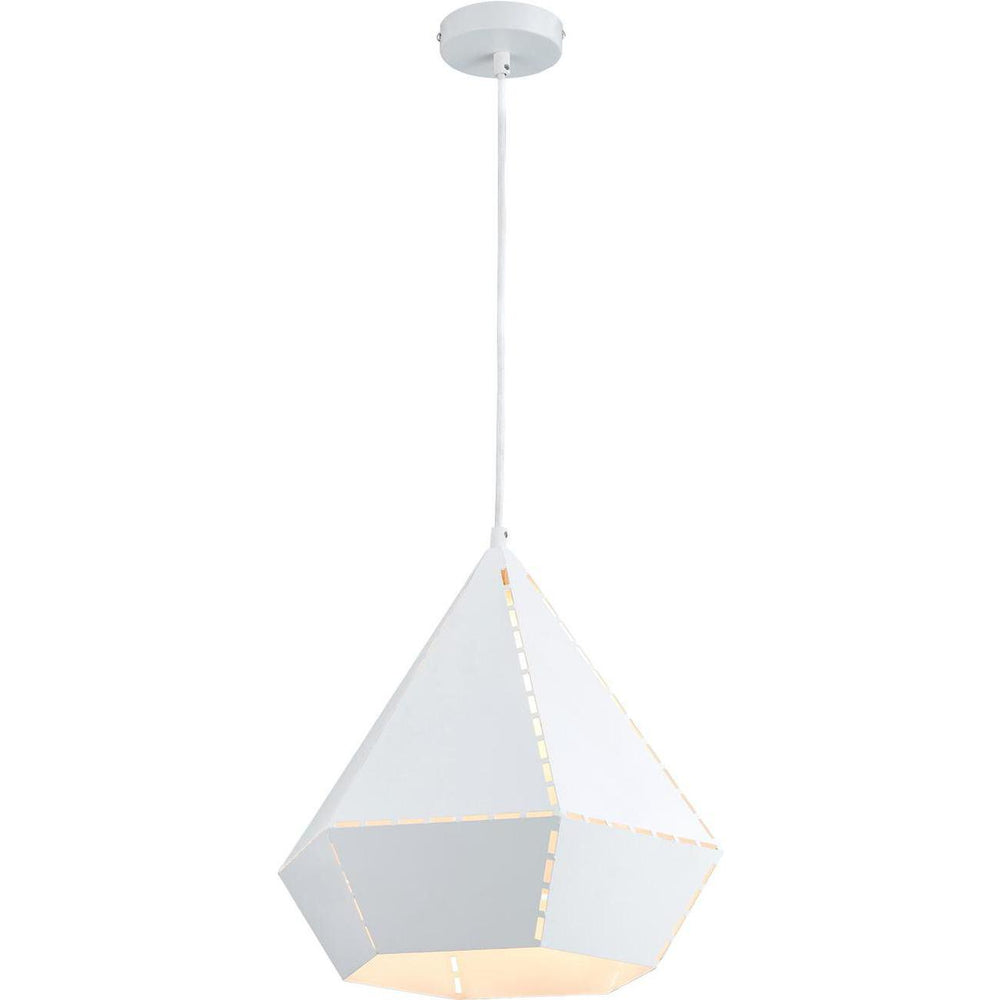Suspension 26633BL - Kitsch Blanc - Lot de 1