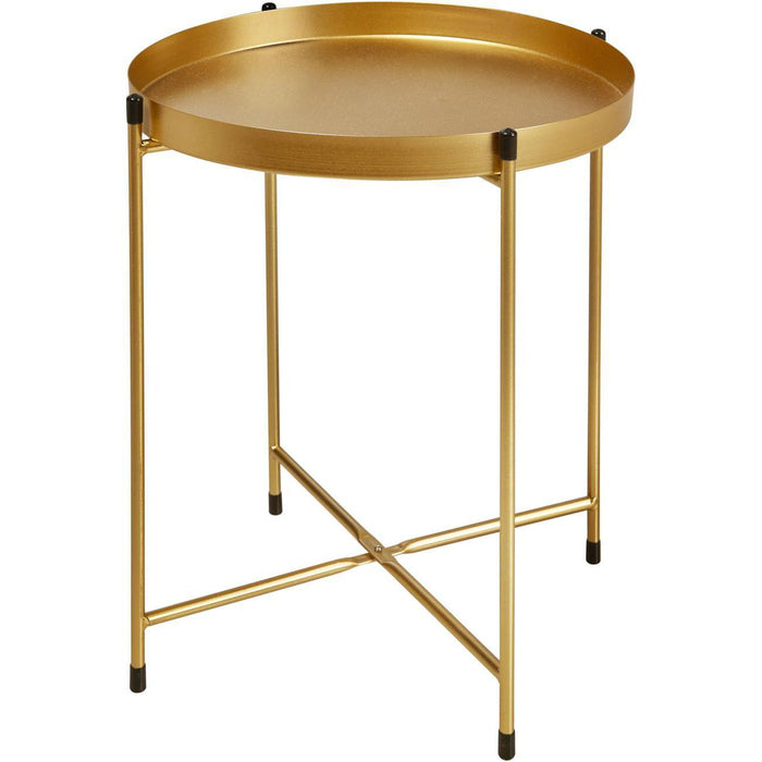 Table d'appoint 67054DO - TERRANO Or - Lot de 1