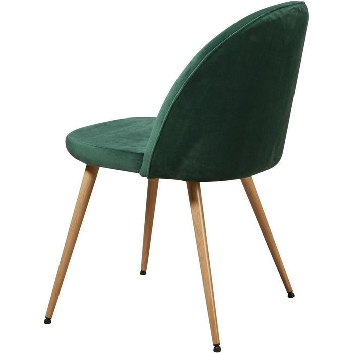 Chaise 15603VE - COCKTAIL Vert - Lot de 4