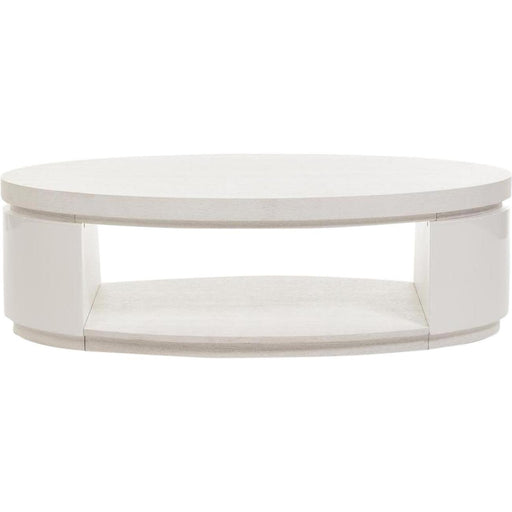 Table basse 10564BL - ELLIPSE Blanc - Lot de 1