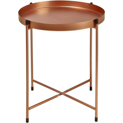Table d'appoint 67054CU - TERRANO Or - Lot de 1