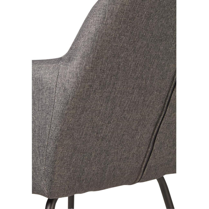 Rocking chair 61121GA - ROCKY Gris - Lot de 1