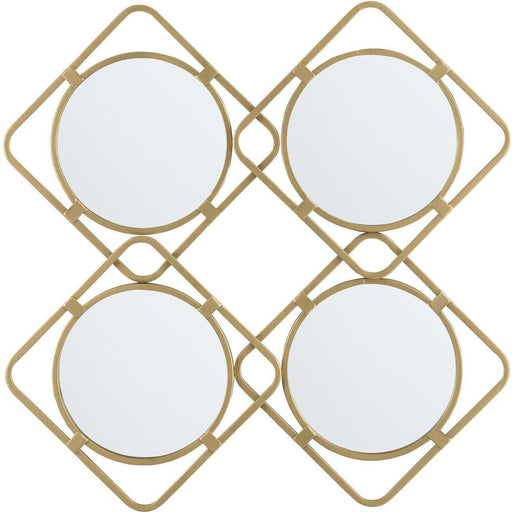 Deco miroir 47538DO - Swords Or - Lot de 1