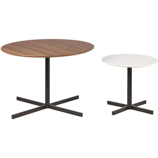 Table d'appoint 65903BC - Kolding Bois & Blanc