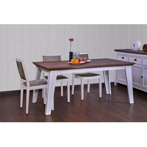 Table de repas 29101BC - GLENVILLE Beige - Lot de 1