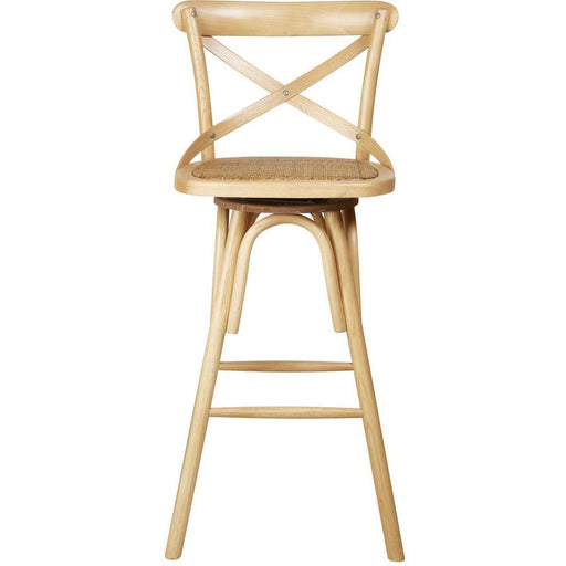 Tabouret de bar 27354NA - ST GERMAIN Beige - Lot de 1
