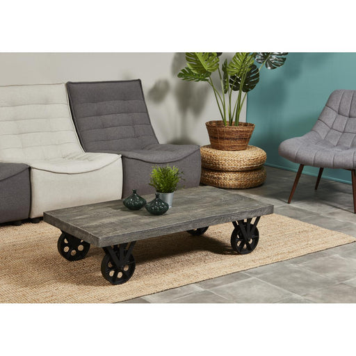 Table basse 29723GR - Chennai Gris - Lot de 1