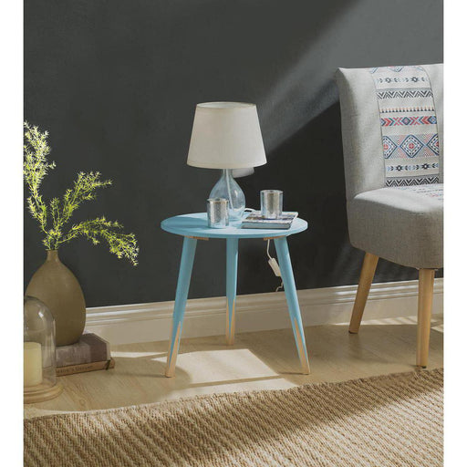 Table d'appoint 13500BU - PENCIL Bleu - Lot de 1