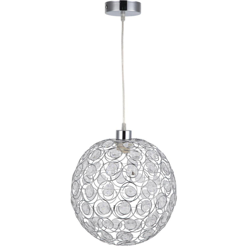 Suspension 3251CR - CRISTAL Argent - Lot de 1