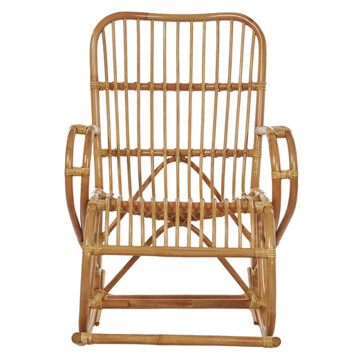 Rocking chair 18541NA - rocking chair Beige - Lot de 1