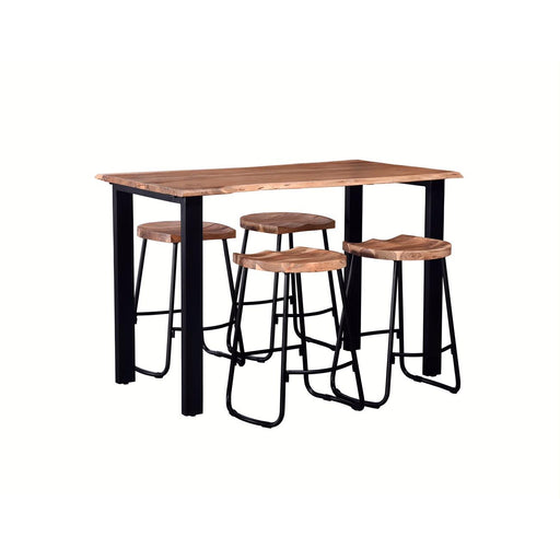 Table Comptoir 29760NA - Varana Marron - Lot de 1
