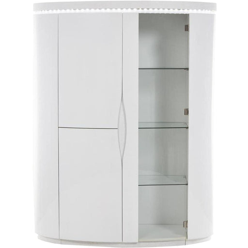 Vitrine 10563BL - ELLIPSE Blanc - Lot de 1
