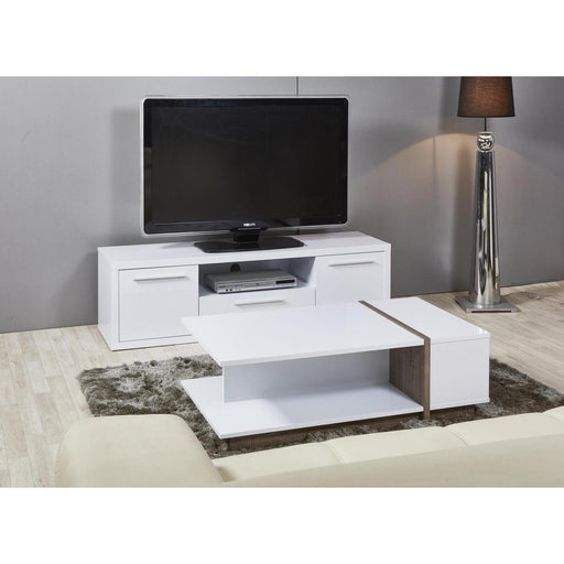 Table basse 29405BF - PANAMA Blanc - Lot de 1