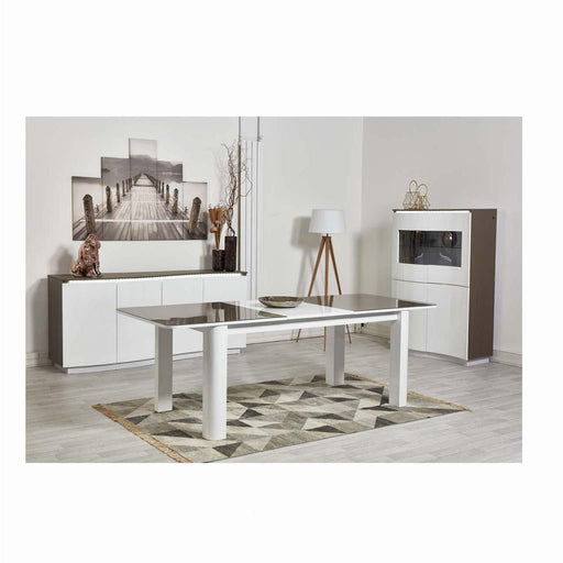Table de repas 10271TB - PACIFIC Beige & Blanc - Lot de 1