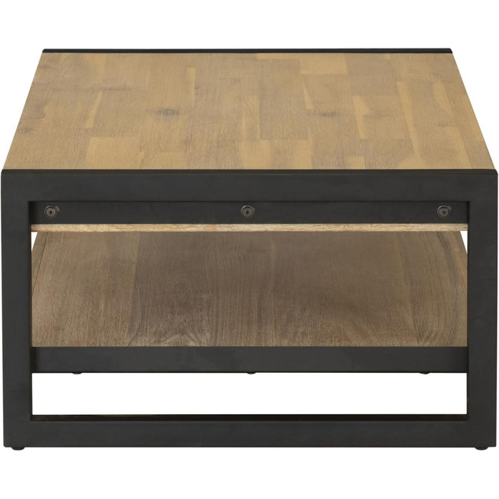 Table basse 19124BS - ZARA Marron - Lot de 1