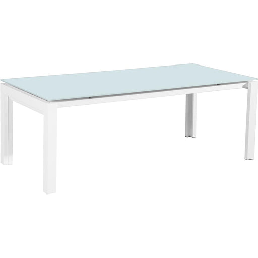 Table de repas 50308BL - HOUSTON Blanc - Lot de 1