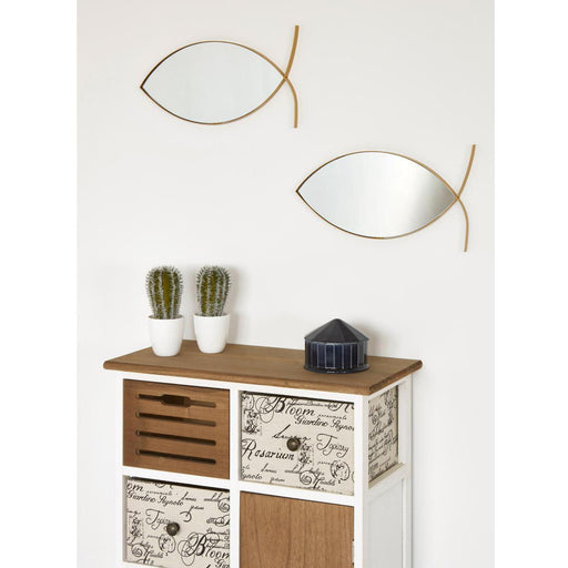 Deco miroir 67190DO - Olga Or - Lot de 1