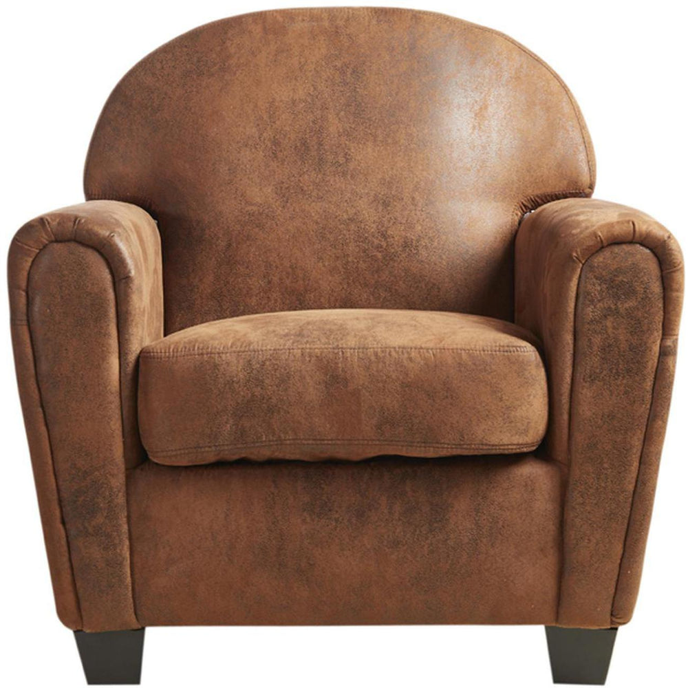 Fauteuil 24210VI - JUNE Marron - Lot de 1