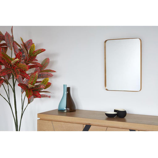 Deco miroir 67184DO - Traun Or - Lot de 1