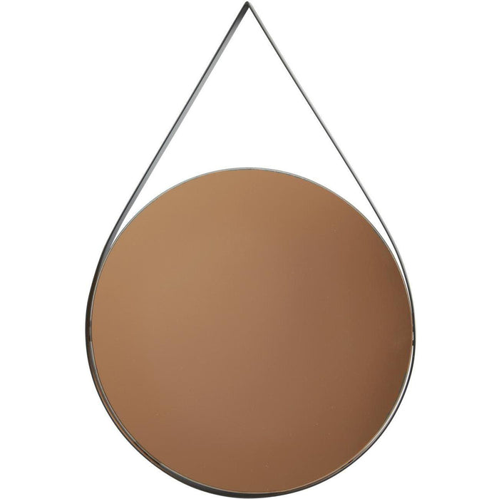 Deco miroir 67189NO - Torn Noir - Lot de 1