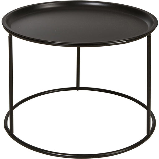 Table d'appoint 67051NO - SERGIO Noir - Lot de 1