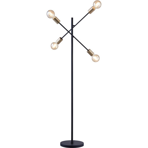 Lampadaire 26462NO - Nira Noir - Lot de 1