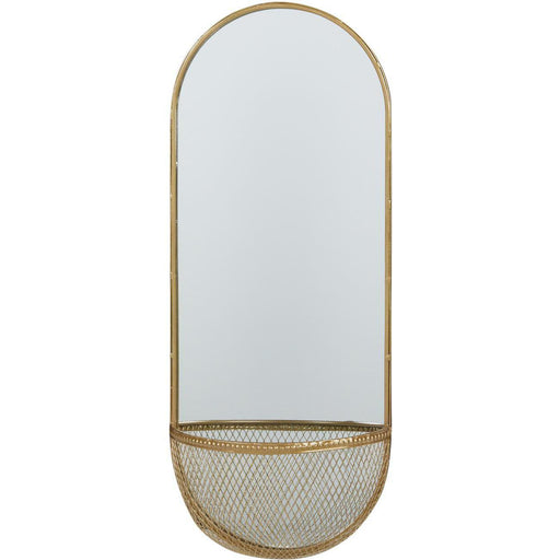Deco miroir 67188DO - Volg Or - Lot de 1