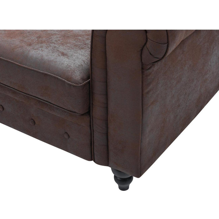 Chaise 13891MA - Tonk Marron