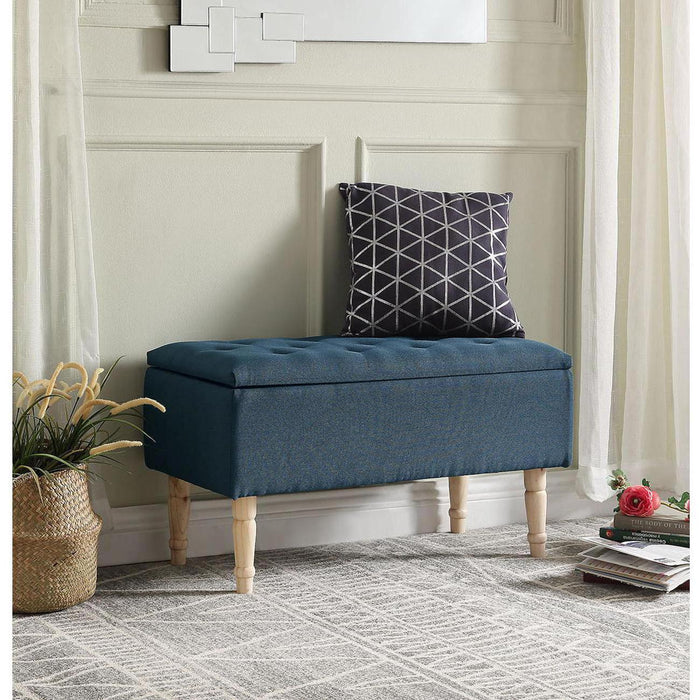 Banc Coffre 13830VE - EMILIE Bleu - Lot de 1
