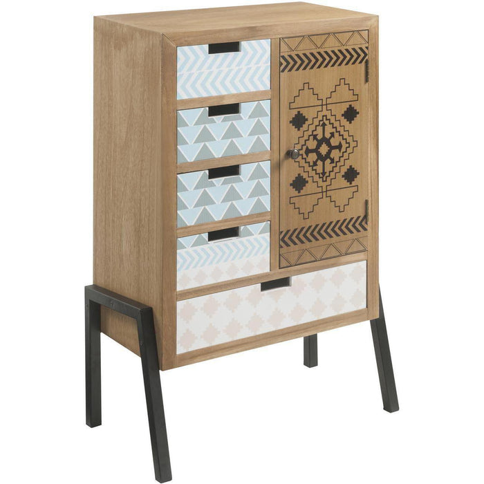 Console 13803NA - MERIDA Marron - Lot de 1