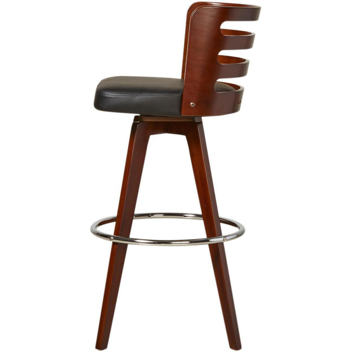 Tabouret de bar 35303NO - SAMANTHA Noir - Lot de 1