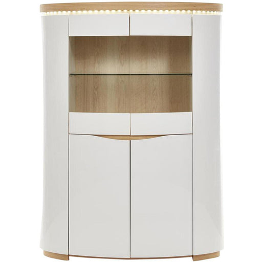 Vitrine 10565CE - ELLIPSE Blanc - Lot de 1