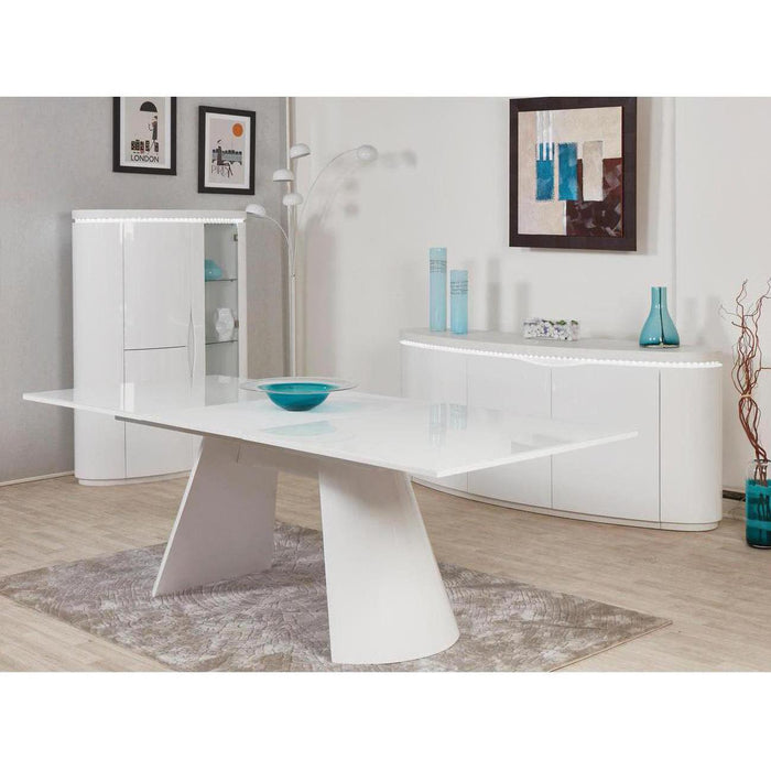 Table de repas 10561BL - ELLIPSE Blanc - Lot de 1