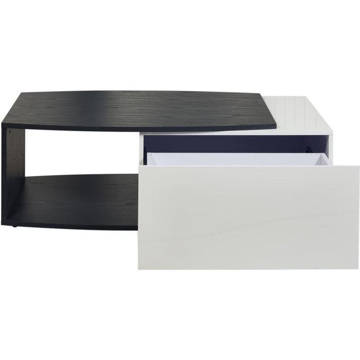 Table basse 10274GB - PACIFIC Gris & Blanc - Lot de 1