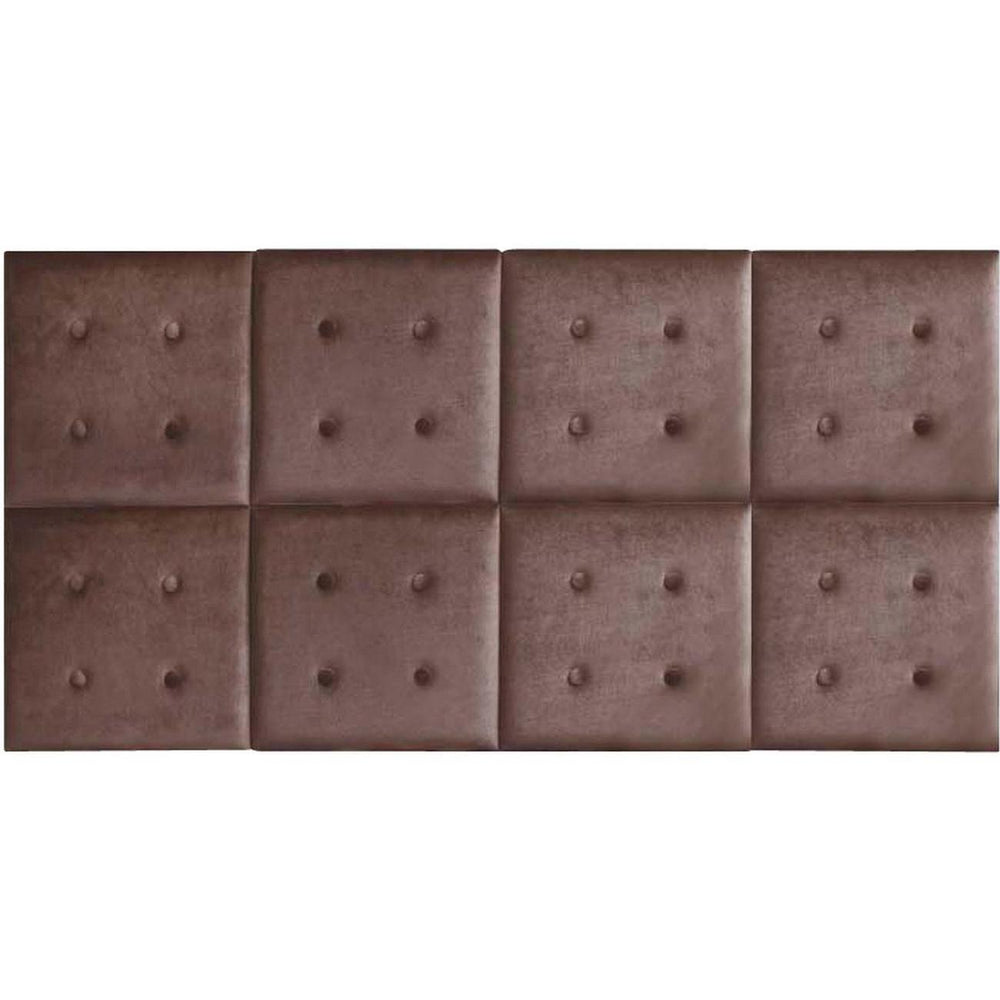 Tete de lit 26129CH - SONIA Marron - Lot de 1