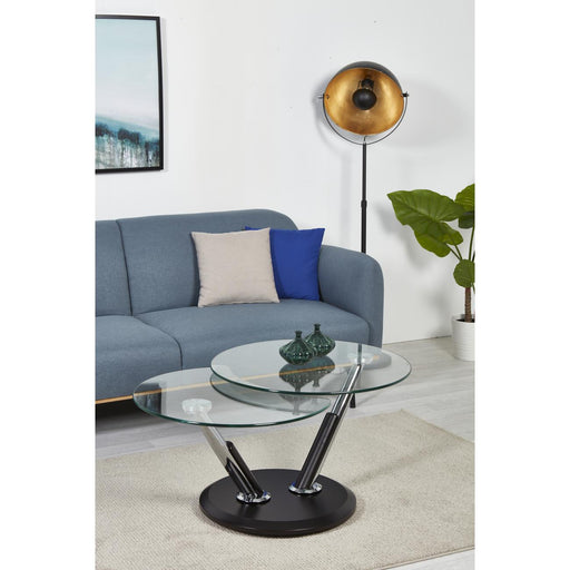 Table basse 28610NO - NELSON Noir - Lot de 1
