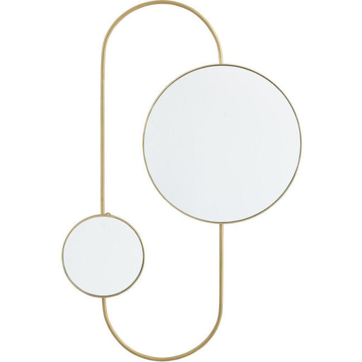 Deco miroir 47539DO - Ennis Or - Lot de 1