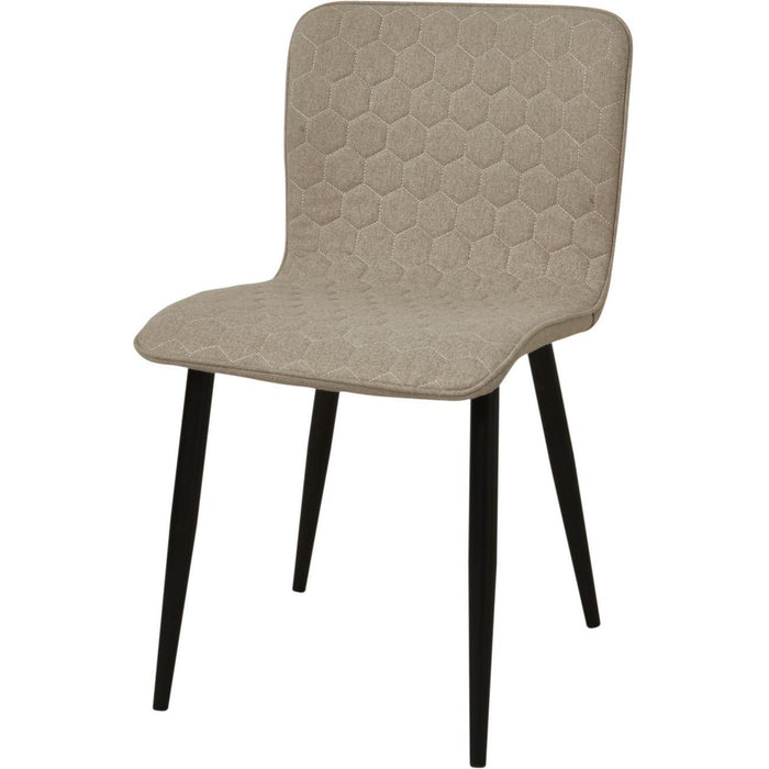 Chaise 43111TA - VEGAS Beige - Lot de 4