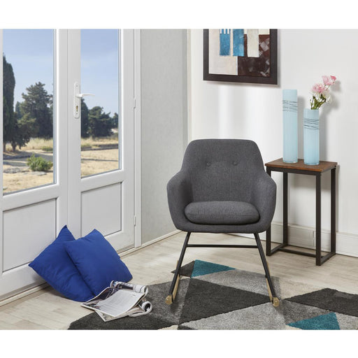 Rocking chair 61120GA - Jens Gris Anthracite - Lot de 1